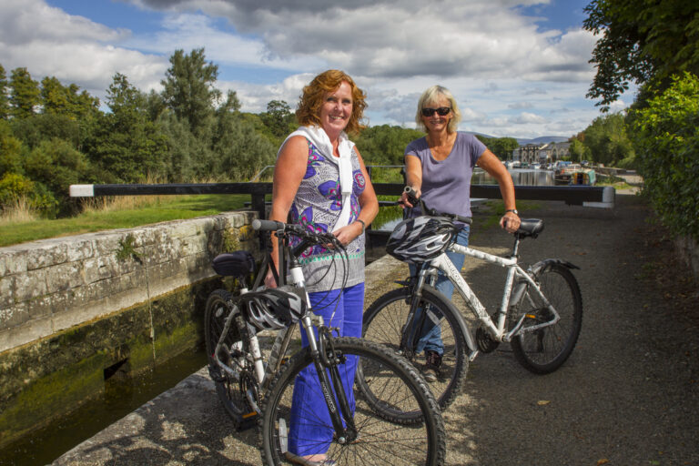 ladies-enjoying-a-leisurely-cycle